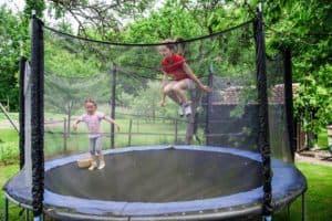 sikkerhedsnet til trampolin