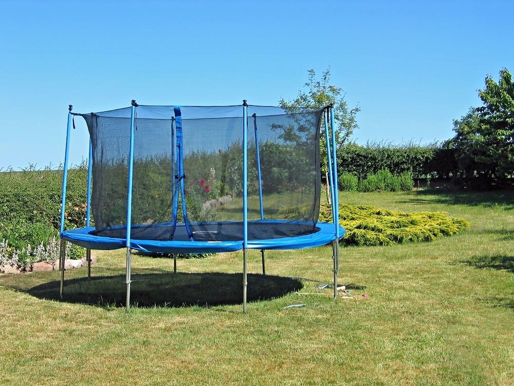 trampolin med ben