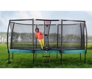 BERG trampoliner på ben