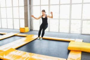 fordele firkantede trampoliner