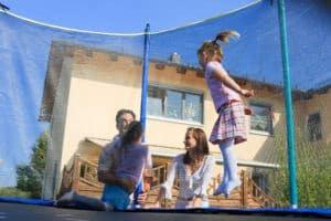 trampolin tilbehør - sikkerhedsnet