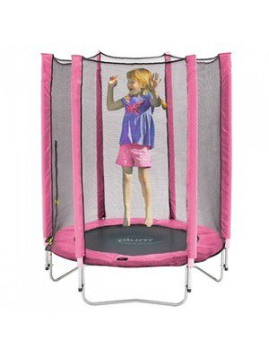 Plum Junior Trampolin i pink