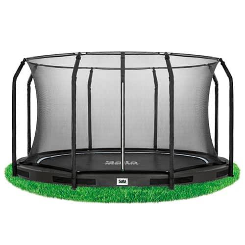 Salta trampolin med net - Excellent Inground