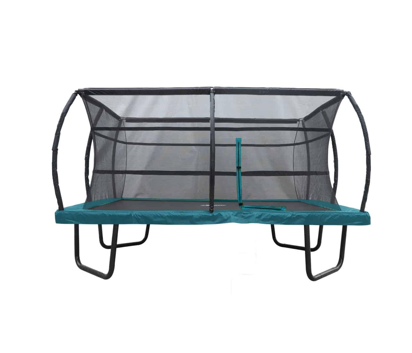 Topnotch Firkantet trampolin (Guide) Fordele ved firkantede trampoliner? YK-87